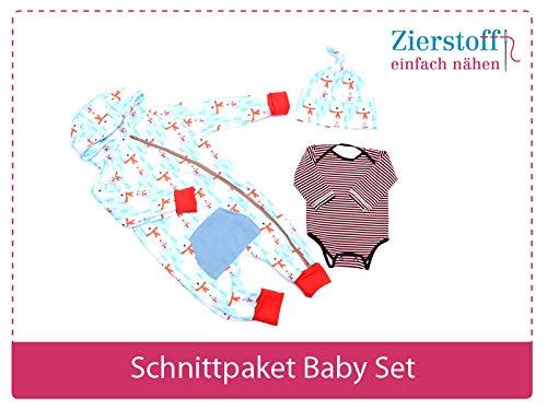 Zierstoff Tela Ornamental con 3 Patrones de Corte de Papel para ...
