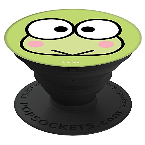 Keroppi Classic Face PopSockets Stand for Smartphones and Tablets