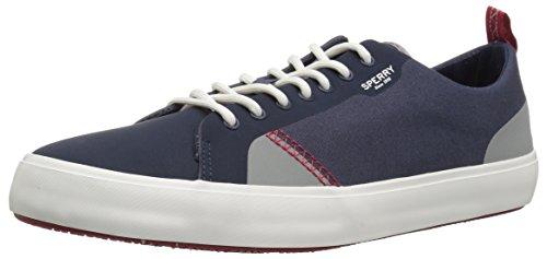 Canvas Deck Navy Top LTT Flex Sperry Men's Sider Sneaker 4I8AY