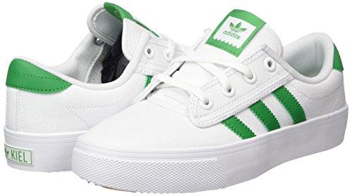 Ftwbla ftwbla Baskets 000 Adultes Unisex Kiel Adidas Verde Blanches wST05q