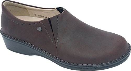 Finn Comfort Womens Newport - 2527 Bordo In Nappa