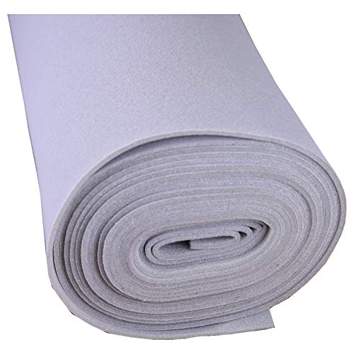 Lt Gray Auto Headliner For Dodge Caravan 3/16'' Foam Backing Fabric Material 108'' X 60'' by Headliner Magic (Image #1)