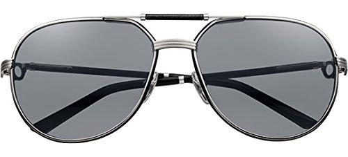 Cartier - Gafas de sol - para hombre negro negro: Amazon.es ...