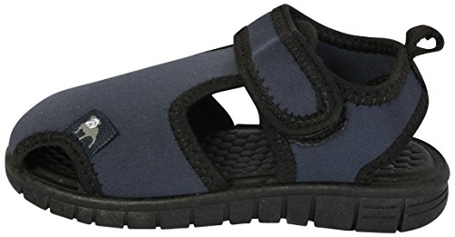 Image of B.U.M. Equipment Boys Water Shoes, Navy/Black, 9 M US Toddler'