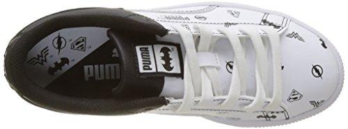 Basket Blanc Enfant Basses Black Jl White puma Mixte Jr Puma puma Sneakers q07x5cf