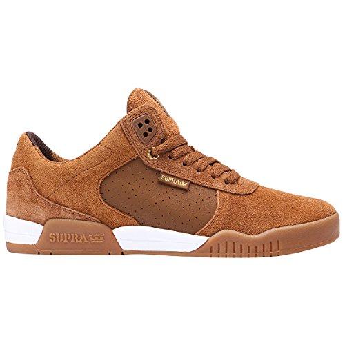 (Supra Men's Ellington Brown/Light Gum Athletic Shoe)