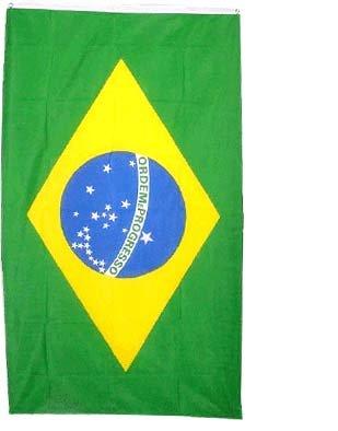 brazil flag 3x5 brand new 3ft x 5ft brazilian banner amazon co uk