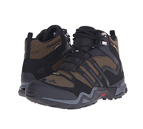 UPC 889133807171, Adidas Outdoor Terrex Fast X High GTX Hiking Boot - Men's Earth/Black/Vista Grey, 8.0