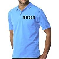 Touchlines Poloshirt Lost-Zahlen Polo para Hombre