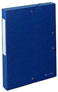 Exacompta 50812E - Carpeta de proyecto con goma, color azul