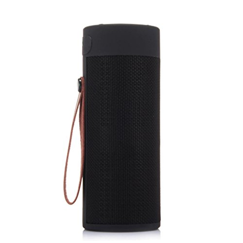 Hd Digital Sounder - T4 Outdoor Portable Bluetooth Speaker Stereo Wireless Speaker With HD Audio (Black)