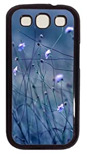 Samsung Galaxy S3 Case Cover - Flowers Stems Customzie Case for Samsung S3 SIII I9300 - Polycarbonate - Black