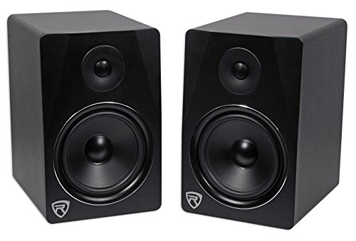 Rockville APM8B 8'' 2-Way 500W Active/Powered USB Studio Monitor Speakers Pair by Rockville (Image #1)