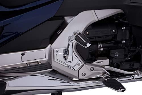 Adjustable Passenger Pegs - Goldstrike Adjustable Passenger Comfort Peg Mounts with Chrome Rail Pegs for Gold Wing