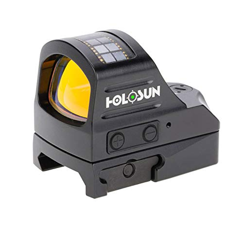 Why Choose HOLOSUN HE507C-GR Elite 1x, 2 MOA Reticle, Green Dot Sight, Black,