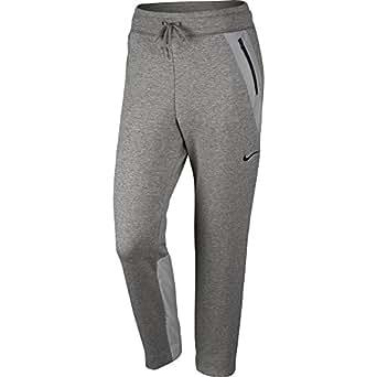New Nike Women's Advance 15 Pants Dk Grey Htr/Matte Silver/Black Small