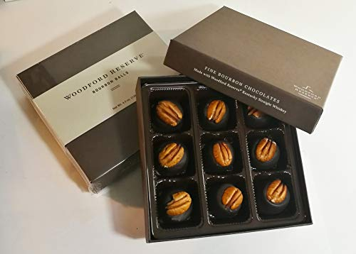 - Woodford Reserve Premium Bourbon Ball Gift Box, 9 candies per box, delicious and perfect for holiday gifts
