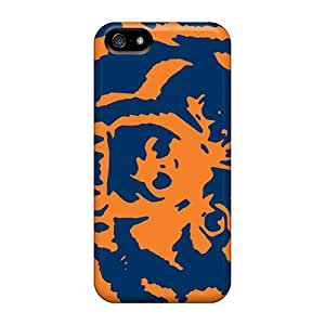 Scratch Resistant Hard Cell-phone Cases For Iphone 5/5s (Wns1694OBUN) Customized Fashion Chicago Bears Image