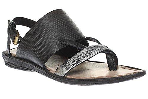 a.s.98508002–0101–Mujer sandalette 7208 Multicolor - negro