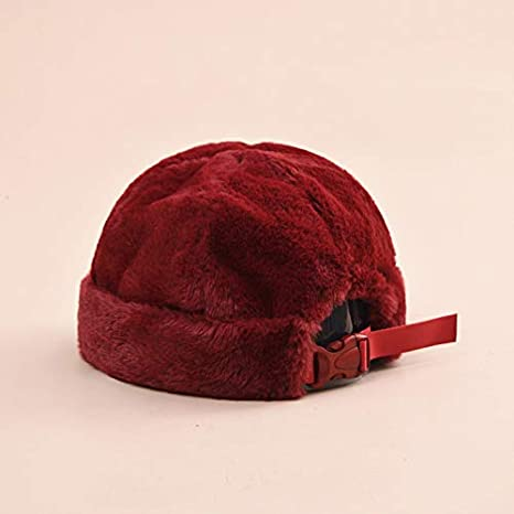 cbcca793fdd925 Image Unavailable. Image not available for. Color: MAGA 1 Autumn Solid  Color Rabbit Hair Warm Wool Winter Women Men Beret French Artist Beanie