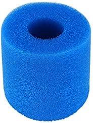 Aibecy Filtro de piscina, filtro de piscina para Intex tipo S1, reutilizável/lavável, filtro de piscina, cartu