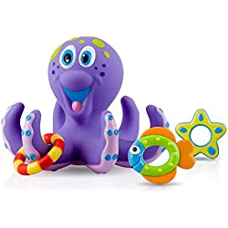 Nuby Octopus Hoopla Bathtime Fun Toys