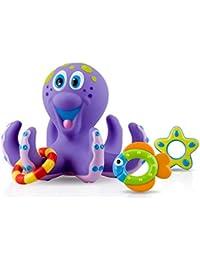 Octopus Hoopla Bathtime Fun Toys, Purple