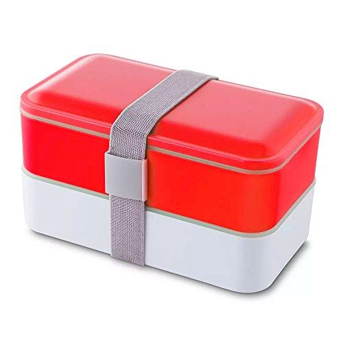Lancheira com Elástico Healthy TopGet - Vermelho