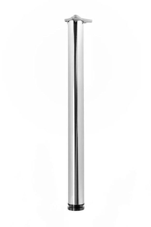 durante Tischbeine Edelstahl Optik 4er Set H 870 mm /Ø 60 mm h/öhenverstellbar inkl Befestigungsmaterial