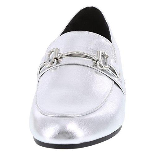 Silver Brash Loafer Darcy Women's Bit nxvxSOaXqw