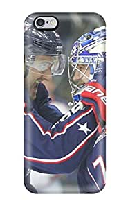 DanRobertse Case Cover Protector Specially Made For Iphone 6 Plus Columbus Blue Jackets Hockey Nhl (61)