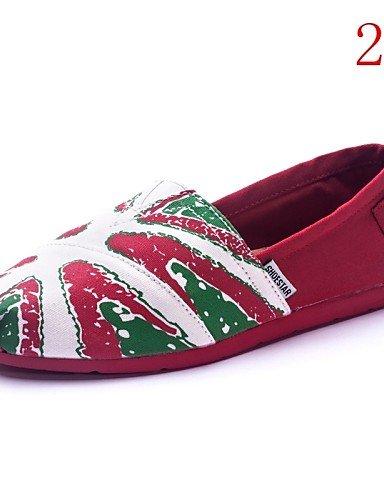 Eu38 Mujer Mocasines Tacón Cn38 Tela 4 Plano us7 Zq Uk6 Comfort Eu39 Cn39 5 Zapatos Uk5 Gyht us8 Casual 4 Exterior 5 Multicolor De tqwxFR0