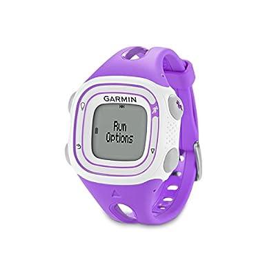 Garmin Forerunner 10 GPSWatch (Violet)-(Renewed)