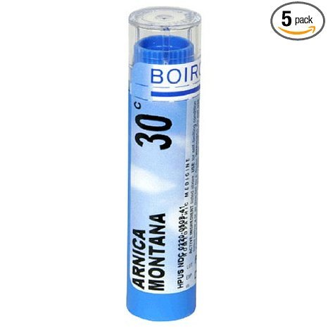 Boiron Arnica Montana, 30C, 80 Count  (Pack of 5), Homeopathic Medicine for Pain Relief by Boiron