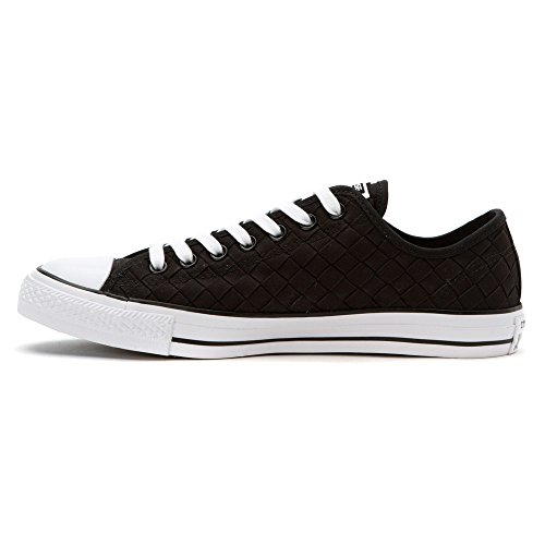 Converse Chuck Taylor All Star Ox Lona Zapatillas Negro - negro