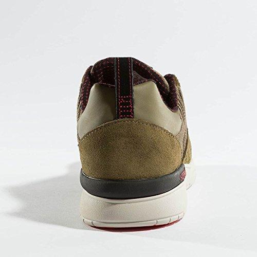 Supra Scissor Skate Schuh Olive / Stein