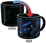 Heat Changing Bioluminescence Mug - Add Coffee or Tea to Reveal 7 Bioluminesent Sea Creatures - Comes in a Fun Gift Box