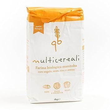 Harina multicereali Orgánica (Multigrain) por la Molino ...