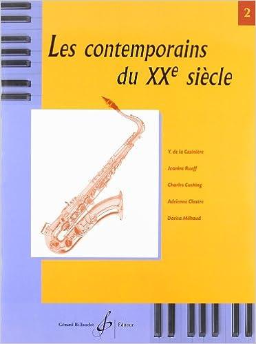 Les Contemporains Ecrivent pour les Instruments a Vent Saxo 1