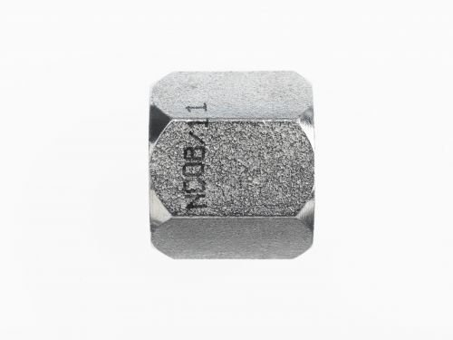 Brennan JIC Nut - 3/4 Inch JIC 37° Flare, (SAE) 1-1/16-12 Thread, Stainless Steel (8 Units)