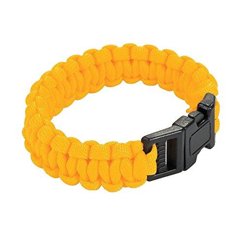 Large Yellow Paracord Bracelets]()