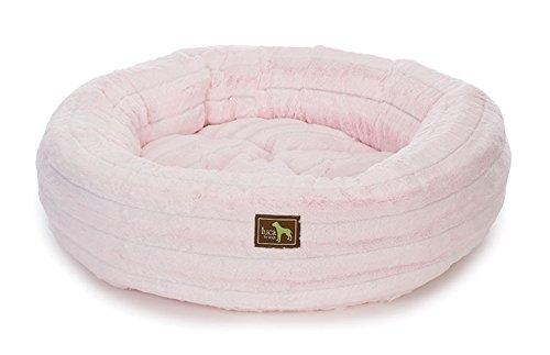 Nest Bolster, Medium - 34 L x 34 W, Chinchilla Baby Pink