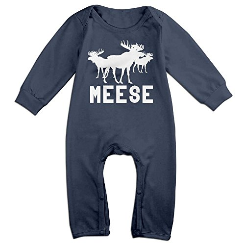 Mackintosh Throw - Moose Meese Infant Romper Jumpsuit Playsuit Outfits Navy 12 Months