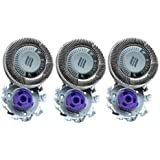 SH50/52 Replacement Heads Set of 3 Shaver P-BladezTM for Philips Norelco Compatible Electric Shaver Series 5000 HQ8 HQ9