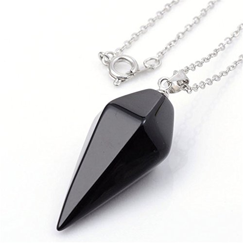 Crystal Pendulum Healing Dowsing Necklace