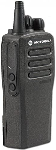 Rugged Radios Nitro Bee Plus Single Channel UHF Race Receiver with Radio Override – Includes Foam Stereo Earbuds and Belt Holster Clip