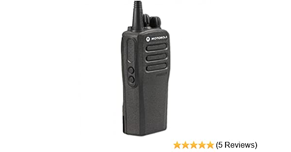 CP200D AAH01QDC9JC2AN Original Motorola Analog & Digital UHF 403-470 MHz  Portable Two-way Radio 16 Channels, 4 Watts - Original Package - 2 Year