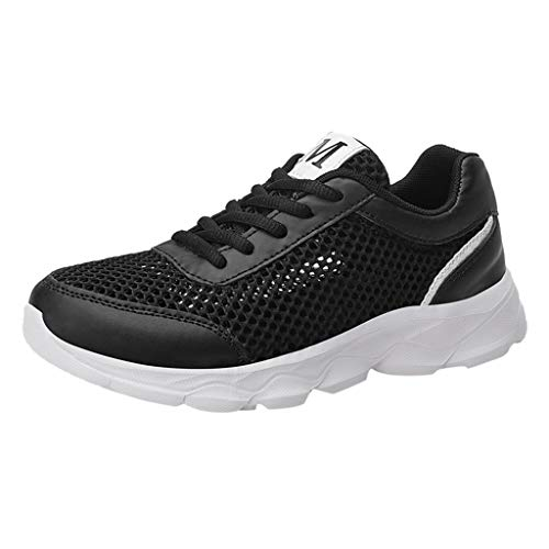 OrchidAmor 2019 Basic Non-Slip Women's Fashion Mesh Casual Breathable Sports Athletic Running Women's Sneakers Black