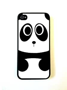 Baby Panda Bear Black Case For Ipod Touch 4 Over CaFor Ipod Touch 4 Cover Ipho...