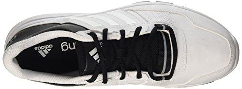 Guerrier Adidas Hommes Gymnase .2 Chaussures De Fitness Multicolore (ftwwht / Ftwwht / Cblack)